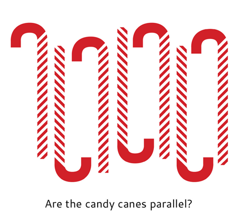 Candy Cane Illusion